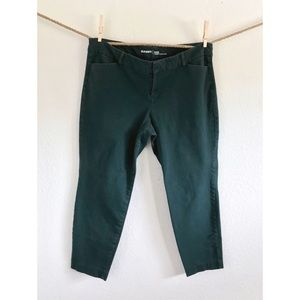 ✌️Old Navy Pixie Mid-Rise Green